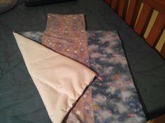 Amb tela de tovallola i gauta