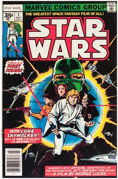 Rare Star Wars #1 35 cent  newsstand price variant. Click the pic and find out more...