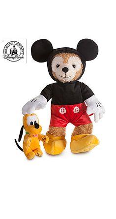 Disney Duffy ダッフィー ザ ディズニーベアー ミッキーマウス Sサイズ(43cm)  の画像