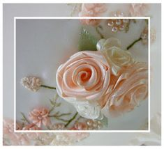 The Best FREE Crafts Articles: Tutorial - Folded Ribbon Rose By Carol Daisy of Embroideries From Daisy's Garden