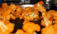 "Oven Roasted Cauliflower Buffalo ""Wings"""