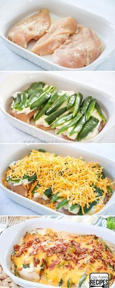 The Husbands Favorite Dinner! The BEST Jalapeno Popper Chicken Casserole! - The Husbands Favorite Dinner! The BEST Jalapeno Popper Chicken Casserole! The Husbands Favorite Dinner! The BEST Jalapeno Popper Chicken Casserole! Cena Keto, Le Diner, Easy Family Meals, Easy Dinners, Easy Dinner Meals, Easy Dinner For 2, Dinners To Make, Dinner For The Week, Low Carb