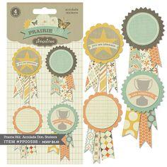 Prairie Hill Accolade Stickers