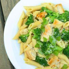 Chicken Broccoli Pasta with Lemon Butter Sauce - The Lemon Bowl