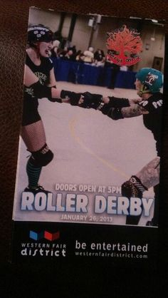 Forest City Derby Girls next bout is January 26th! Three FCDG teams are taking the track!  Get tickets online @westernfairdistrict.com or from any FCDG member! #forestcityderbygirls #rollerderby #londonontario #london #ontariorollerderby #thamesfatales #lunchladies #swontario #londontourism