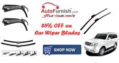 Big Brands. Bigger Discounts on Car Accessories - #Autofurnish 85% OFF on Car #Wiper #Blades http://www.autofurnish.com/wiper-blades