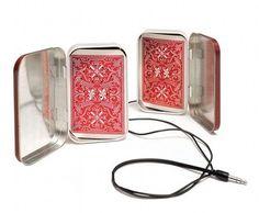 5 techy ways to reuse Altoids tin - Playing card speakers!