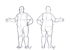 Fat Costume Design Base