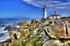 Faro Touriñan. A Coruña. Galicia. Spain.