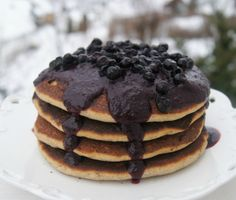 Gluten free vegan pancakes, waffles and crepes Vegan Buckwheat Pancakes, Buckwheat Gluten Free, Vegan Gluten Free, Gluten Free Recipes, Vegan Recipes, Dairy Free, Vegan Food, Vegan Sweets, Vegan Desserts