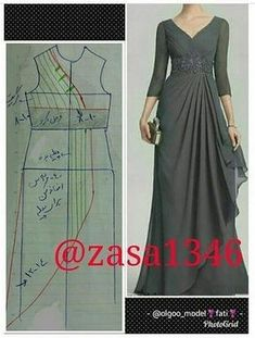 T Shirt Sewing Pattern, Dress Sewing Patterns, Clothing Patterns, Long Dress Patterns, Sewing Clothes, Diy Clothes, Fancy Dress Design, Recycled Dress, Muslim Women Fashion