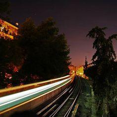 Thiseio Train! #athens #thiseio #train #nightshooting #night #urban #urbanlife #city #citylights