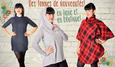 Des tonnes de nouveautés en ligne www.belleetrebelle.ca #modemtl  #faitauquebec  #belleetrebelle  #petiterebelle Sweaters, Dresses, Fashion, Fishing Line, Gowns, Moda, La Mode, Pullover, Sweater