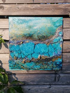 Night, Artworks, Heart Pictures, Abstract Landscape, Impressionism, Original Paintings, Paintings On Canvas, Blue Green, Art Pieces