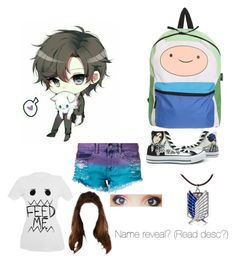 """""""Name reveal? (READ DESC)"""" by i-love-cake3 ❤ liked on Polyvore featuring Hot Topic, Bambam, Goodie Two Sleeves and Converse"""