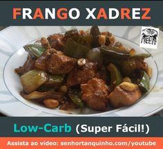 Receita nova no ar: Frango Xadrez Low-Carb (fácil rápido e delicioso!) . Vídeo completo em http://ift.tt/1RxCWAS .Ingredientes: - 500g de peito de frango picado em cubos - 6 a 10 dentes de alho picados - 1 cebola grande - 2 pimentões verdes - 50g de amendoim descascado - shoyu a gosto; .  #paleo #paleobr #primal #primalbrasil #lowcarb #lchf #frangoxadrez #cetogenica #atkins #japones #comidadeverdade #saude #vidalowcarb #youtube #video #receita