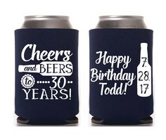 Birthday Favors Cheers & Beers to 30 Years Party Favor Birthday for Him Dirty 30 Happy 1987 Birthday 30th Birthday Favors, Husband 30th Birthday, Surprise 30th Birthday, Thirty Birthday, 30th Party, Birthday Gifts For Boys, 30th Birthday Parties, 30 Birthday, Birthday Cakes