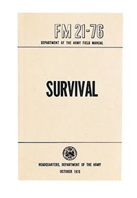Military Survival Manual – Barre Army/Navy Store Online Store