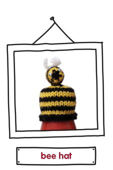 the innocent big knit. Knitting little hats to raise money to help keep older people warm in winter. Bee Hat, Big Knits, Bratz Doll, Fun Hobbies, Knitting Accessories, How To Raise Money, Knitted Hats, Smoothie, Christmas Ornaments