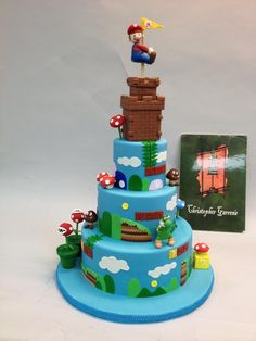 Your princess is in another castle! Mario cake