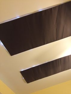 Skylight Covers Using Blackout Fabric (Harper Home Blackout Drapery Fabric  Chocolate Brown) As Outside