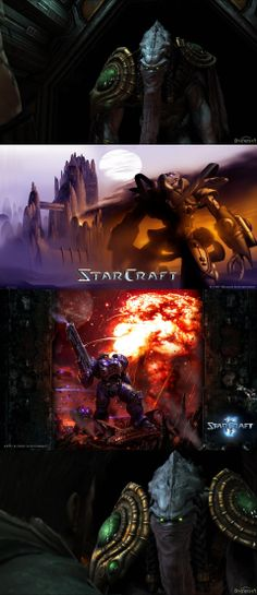 zeratul, video, scene, starcraft, softimage, raynor