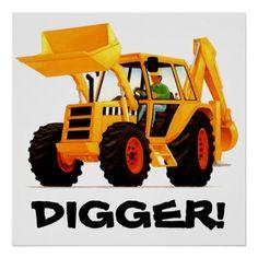 Yellow Digger Posters
