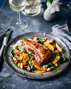 Foodie travel 284430532694510306 - If you're after a roast that won't break the bank or scrimp on flavour, this crispy pork belly recipe that can be made for under a head could be for you. Source by deliciousmaguk How To Cook Chorizo, Pork Belly Recipes, Roast Recipes, My Burger, Crispy Pork, Bean Stew, Cooking Recipes, Healthy Recipes, Game Recipes