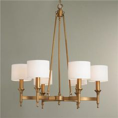 "S of L Metrolume Chandelier $669. (32""Hx30""W)"