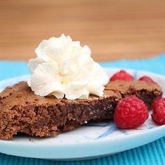 Mocha Brownie Pie