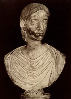 Salonina, the wife of Gallienus. Marble. Rome, Capitoline Museums, Palazzo Nuovo, Hall of the Emperors