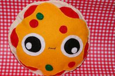 Cheese and Tomato Pizza Plush Soft Toy/Cushion/Kids Pillow Cool Junk food Hawaiian