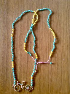 Summer bicycle rosary!!!!!!