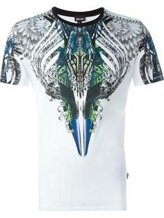 Comprar Just Cavalli camiseta con estampado abstracto en Vitkac from the world's best independent boutiques at farfetch.com. Shop 300 boutiques at one address.