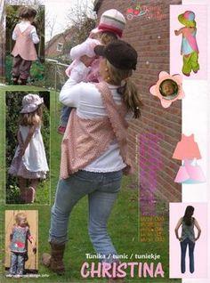 Schnittmuster CHRISTINA Hängerchen Schürzenkleid auf www.Stoff-Schmie.de