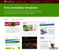 Free Html Newsletter Template That Will Help You To Expand Your