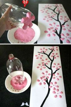 DIY decoration: magical do-it-yourself ideas -  Great decoration doesn't have to be expensive. We show you how you can make your home beautifu - #decoration #DIY #doityourself #ideas #IndianPaintings #magical #OilPaintings #Paintings #yourself<br> Kids Crafts, Diy Home Crafts, Easy Crafts, Creative Crafts, Felt Crafts, Wood Crafts, Paper Crafts, Diy Para A Casa, Art Diy