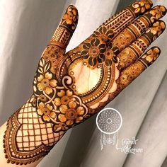 My love for the coffee bean flower is eternal ⚜️ 💠 💠 💠 Latest Bridal Mehndi Designs, Floral Henna Designs, Latest Arabic Mehndi Designs, Indian Mehndi Designs, Henna Art Designs, Mehndi Designs 2018, Mehndi Designs For Girls, Mehndi Designs For Beginners, Modern Mehndi Designs