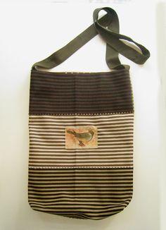 Brown-khaki-beige-black handbag/decoupage on leather/decoration by RazVihreno on Etsy