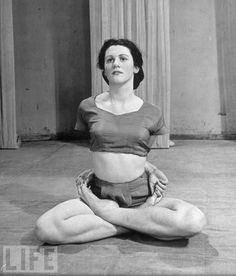 vintage yoga