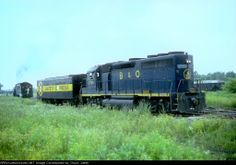 B&O GP40 3760 B&O GP40 3760 assisting in the turning of the Safety Express at Fort Wayne, Indiana on an unknown day in June 1981, ...