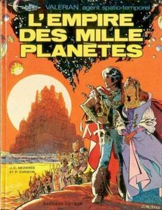 Valérian -2- L'empire des mille planètes - BD