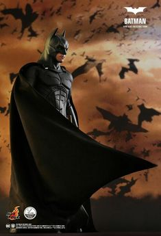 Batman Begins Batman Scale Action Figure by Hot Toys Popcultcha Batman Poster, Batman Art, Batman And Superman, Batman Stuff, Spiderman, The Dark Knight Trilogy, The Dark Knight Rises, Batman The Dark Knight, Batgirl