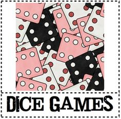 Dice games for multiplication, addition, subtraction