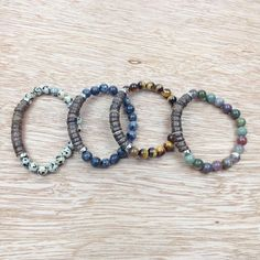 2017 Sn0627 Hot Sale Coconut Shell Bracelet Tiger Eye Stone Bracelet Design Chakra Bracelet High Quality Jewelry From Stephense, $17.09 | Dhgate.Com