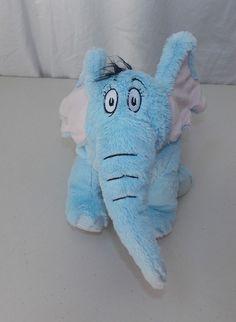 Kohls Cares For Kids Dr. Seuss Horton Hears a Who Elephant Plush Stuffed Animal  #KohlsCaresForKids