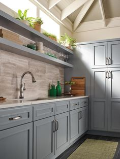 Riverside Slab Style #bathroom #vanity Cabinets Made In Waterloo, IA  Available In Many Woods And Finishes. | Bertch.com | Bathrooms | Pinterest  | Vanities,u2026