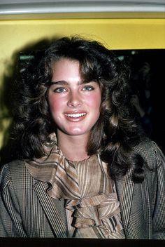 Brooke Shields circa 1982 in New York City