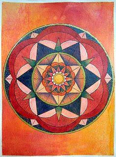 ⊰❁⊱ Mandala ⊰❁⊱  Semana de Libro de Vida 39 por Wendy