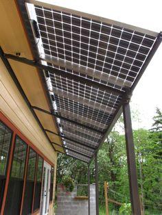 Solar awning                                                                                                                                                                                 More #renewableenergy